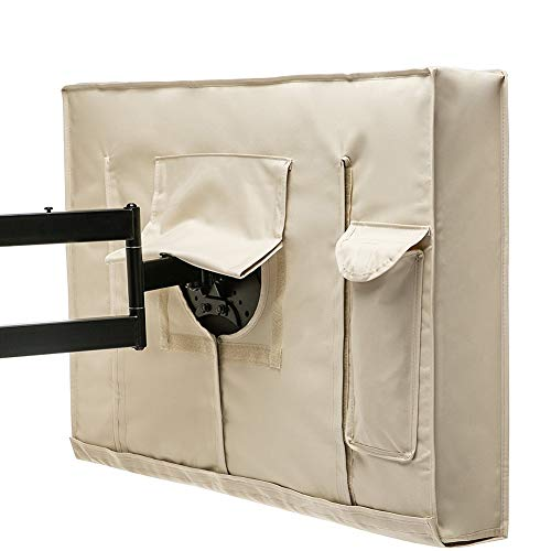 Freizeitmöbel Abdeckung TV-Außenabdeckung - Unteres Siegel Wetterschutzfolie Für LCD-, LED- Und Plasma-Fernseher - Schützen Sie Ihren Fernseher Jetzt (Size : 36-38in) -