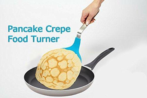jnvshop Jumbo antiadherente amplia nailon Tortilla Pancake sartén para crepes alimentos Turner