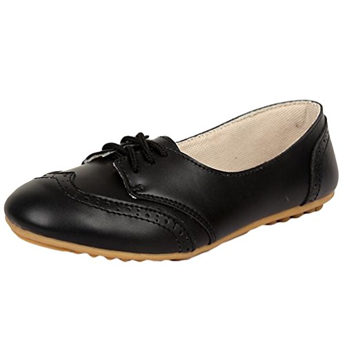 Low Flache Schuhe Loafers Slippers Casual top Heheja Freizeit Damen Schwarz Mokassin aBqFZR