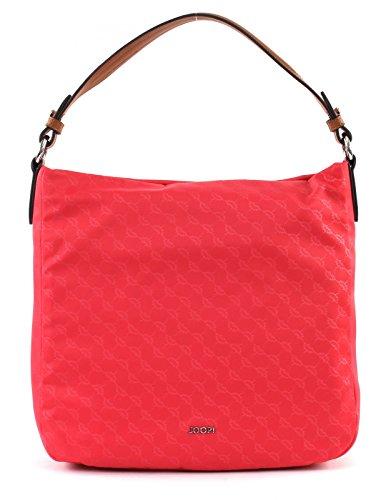 JOOP! Damen Nylon Cornflower Dina Hobo Lvz Henkeltasche, Pink (Coral), 11x31x32 cm (Hobo Coral)