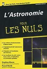 L'Astronomie pour les Nuls poche de Pascal BORDE