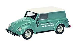 Schuco 450900900 VW Beetle Kombi - Modelo de Coche, Color Azul, Escala 1:43