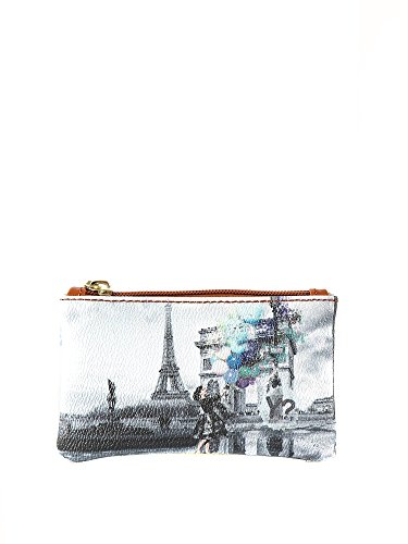 Y not G 307 Bustina Porta chiavi stampa Parigi BB