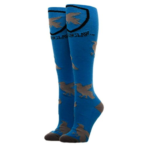 Harry Potter Houses Juniors/Womens Knee High Socks - Ravenclaw