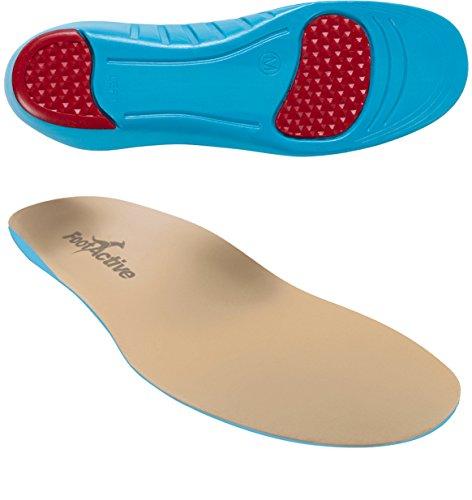 FootActive Sensi - Einlegesohlen für empfindliche Füße - Eine Wohltat für Fersen und Fußballen! GR. 44-45 (L)