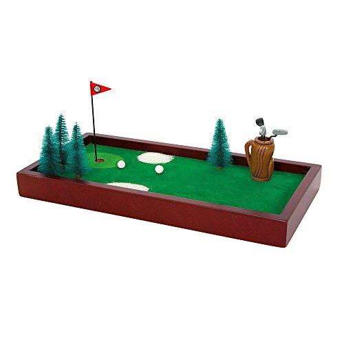 Geschicklichkeitsspiel Tischgolf, Minigolf fördert die Feinmotorik, Konzentration und Geduld, Spielspaß für die ganze Familie, auf jedem Tisch spielbar, inkl. vielfältiges Zubehör