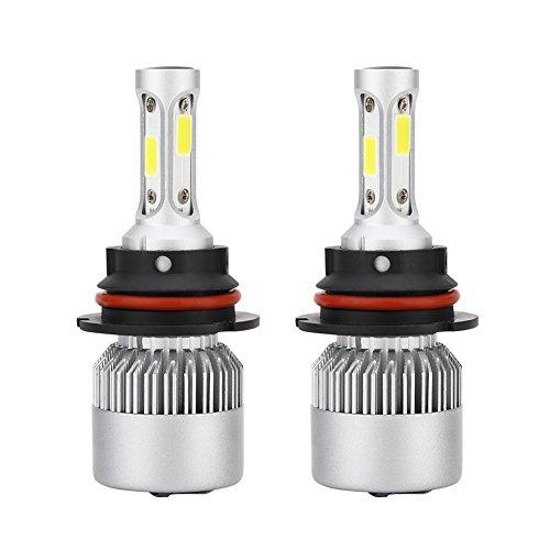 zantec 1Paar 9004S2LED Scheinwerfer-Kit 4000lm/Leuchtmittel 6500K Low Beam Nebel Leuchtmittel HID Weiß
