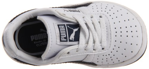 Puma Gv Special Kids Cuir Baskets White/New Navy