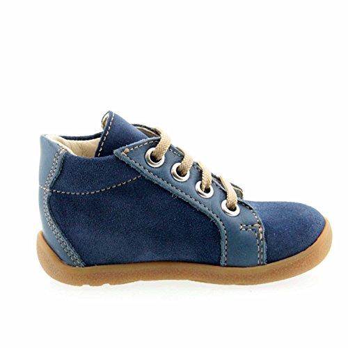 Däumling  040291 M 42, {Chaussures premiers pas pour bébé (garçon) Bleu