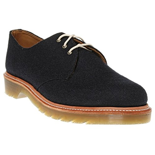 Dr Martens - Lester 3Eye Shoe - Bleu Marine Felt