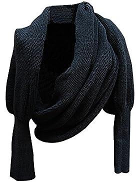 TININNA mangas largas de las mujeres de la bufanda multifuncional invierno Bufandas mujeres Moda Bufanda