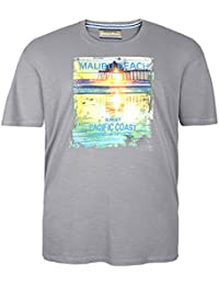 Camiseta Redfield gris en tallas XXL