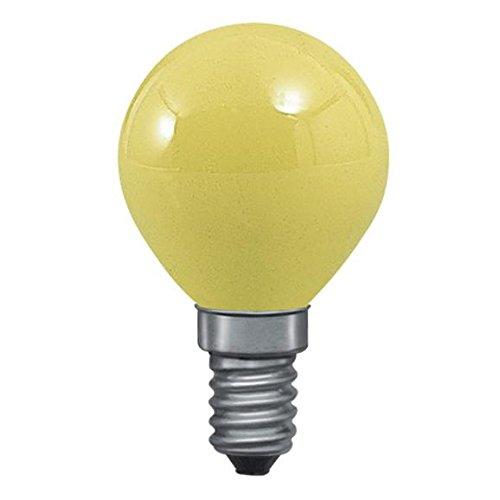 clar-leuci - Glühlampe Esferica, gelb, 25W, 230V, E-14