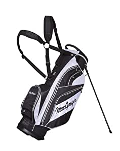 MacGregor Tourney X Golf Stand Bag - Black/White, Size 1