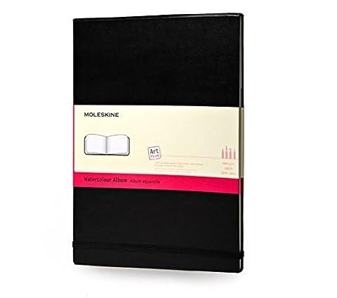 Moleskine Carnet aquarelle Format de poche Couverture rigide noire 9