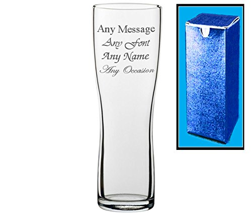 Personalised-Engraved-Aspen-Pint-Glass-Birthday-Fathers-Day-Wedding-Gift