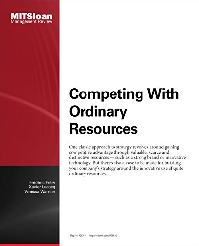 Competing With Ordinary Resources - Journal Article