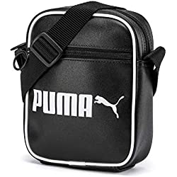 Puma Campus Portable Retro Sac à bandoulière Adulte Unisexe, Black, OSFA