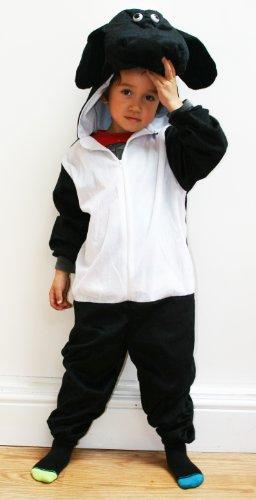Imagen de fun play disfraz animal oveja negra para niño animal onesie oveja negra para niños 3 5 años talla m alternativa