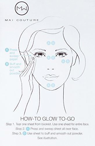 Mai Couture fondotinta in polvere Papier, nude Glow 50fogli