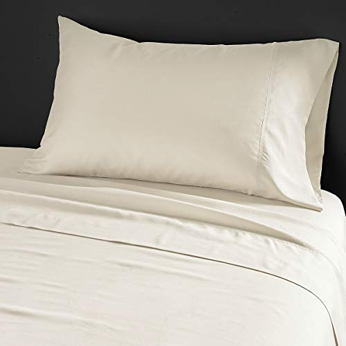 Donna Karan Home Silk Essentials Kissenbezüge, King Size, 100% Seide, Perlenfarben, 2 Stück