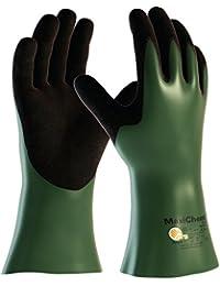 ATG 56633-10B Gants de protection anticoupures Manipulation de produits chimiques Niveau 3 30cm