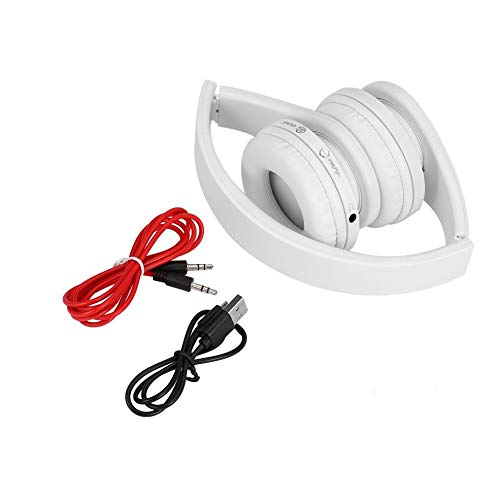 Convenient Foldable Wireless Stereo + Headset Combo with Mic for iPhone Cellphone PC Laptop 3.5mm Audio Jack