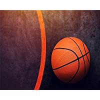 MASHICHEN Painting By Numbers Diy Adults And Kids Basketball Ball Seniors Junior Beginner s Kits Digital Oil Painting-(40X50Cm) With Frame