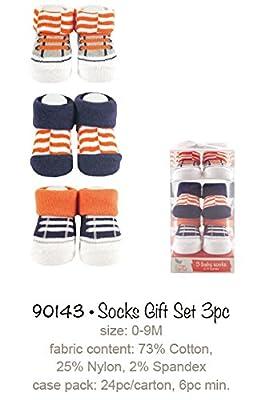 Yoga Sprout 90143 3er Set Babysocken, passend von 0-9 Monate, 3 verschiedene Designs