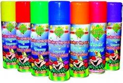 Fasching Leucht-Colour Haarspray 125 ml (orange)