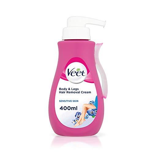 Veet crema depilatoria aloe vera & vitamina piel sensible