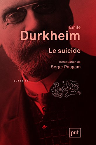emile durkheim thesis on suicide Emile durkheim's theories on suicide - suicide is the third leading cause of death in the united states in 2010, men had a suicide rate of 199, and women had a rate of 52.