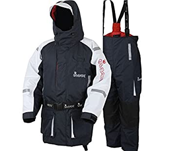 Imax Coast Waterproof Sea Beach Shore Boat Fishing Flotation Saftey Suit - Warm Thermal Protection from Imax.