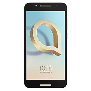 Alcatel A7 5.5-Inch 32GB ROM/3GB RAM SIM-Free Unlocked Smartphone - Black/Gold