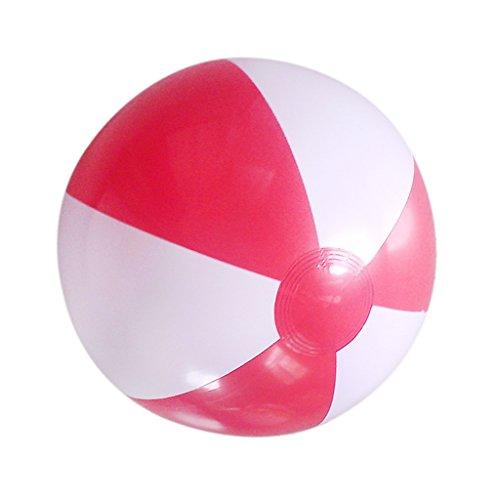 hwimm / Pool-Party Beach-Ball Schwimmen Ball - Rot In Weiß, / (Rote Und Weiße Beach-ball)