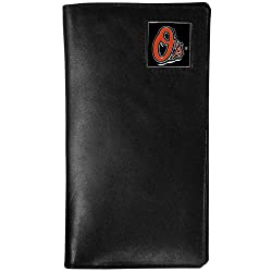 MLB Baltimore Orioles Tall Leather Wallet