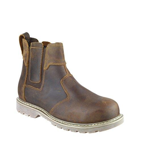 Amblers, Chaussures De Sécurité Pour Homme Brown Brown 10 Brown (brown)