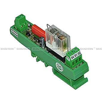 Shavison Relay Module AS421-230VAC-S-OE, 1C/O, 1 Channel, 230VAC Coil, OEN Relay, Socket Mounted Relay, Isolated Coils, Contact Rating : 28VDC/230VAC, 5A