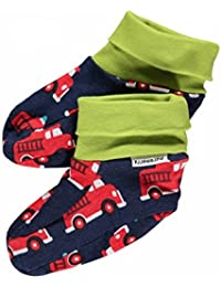Maxomorra Baby Footies FIRE TRUCK