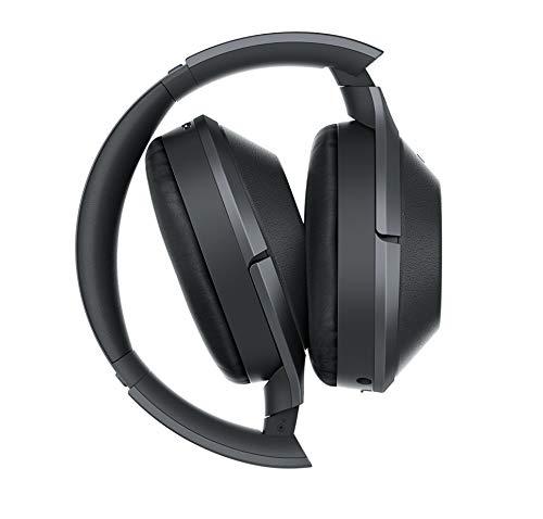 Sony MDR-1000X kabelloser High-Resolution Kopfhörer (Noise Cancelling, Sense Engine, NFC, Bluetooth, bis zu 20 Stunden Akkulaufzeit) schwarz - 3