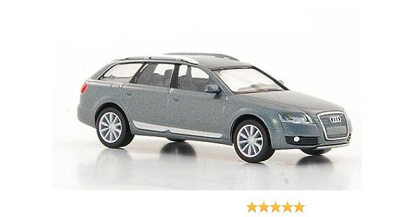 Audi A6 Allroad Quattro Metallic Grau Modellauto Fertigmodell I Herpa 1 87 Spielzeug