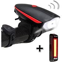 Luces Bicicleta delantera y trasera, USB Recargables Impermeables LED Luz Bicicleta