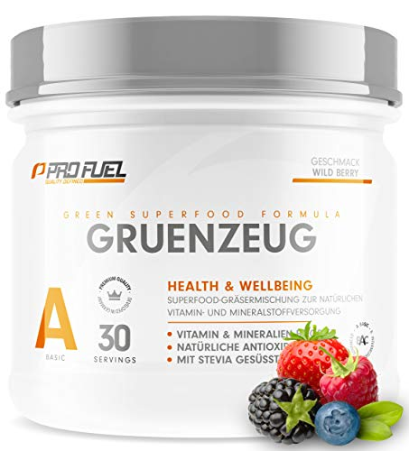 GRÜNZEUG Superfood Vitamin Pulver - Das Beste