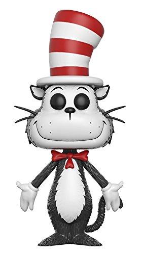 (FunKo 12449 No Actionfigur Dr Seuss Cat in The Hat, weiß, 1 Figure)