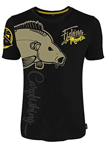 Angelsport Hotspot Design The Wait Carpfishing T Hemden & T-Shirts Shirt