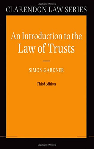 An Introduction to the Law of Trusts (Clarendon Law Series)