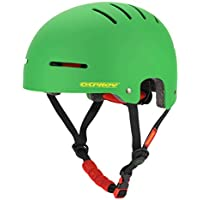 Osprey Skate Helmet, Adjustable ABS Shell Safety Helmet for Sports Protection - Multiple Colours
