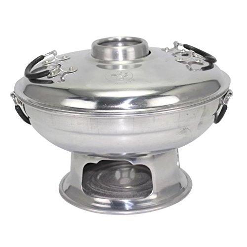 Thai Hot Pot Suppenteller Aluminium Tom Yum Kung Servieren Größe (Zombie Ein Dressing Wie)