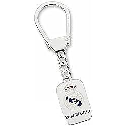 Llavero escudo Real Madrid Plata de ley esmaltado [6820] - Modelo: 30-057-C