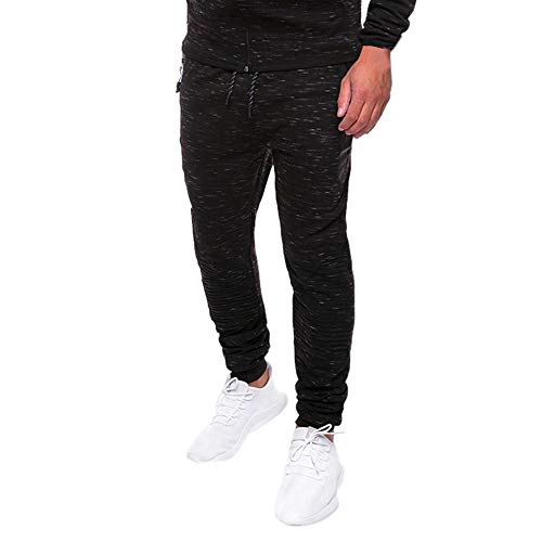 Spot Homme Pantalons,Élasticité Fitness Formation Loisirs Grande Taille Mode Coton Slim Spo